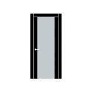 Скрытые петли - дверь изготавливается без четверти
