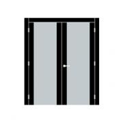 Двустворчатая дверь - две равные створки